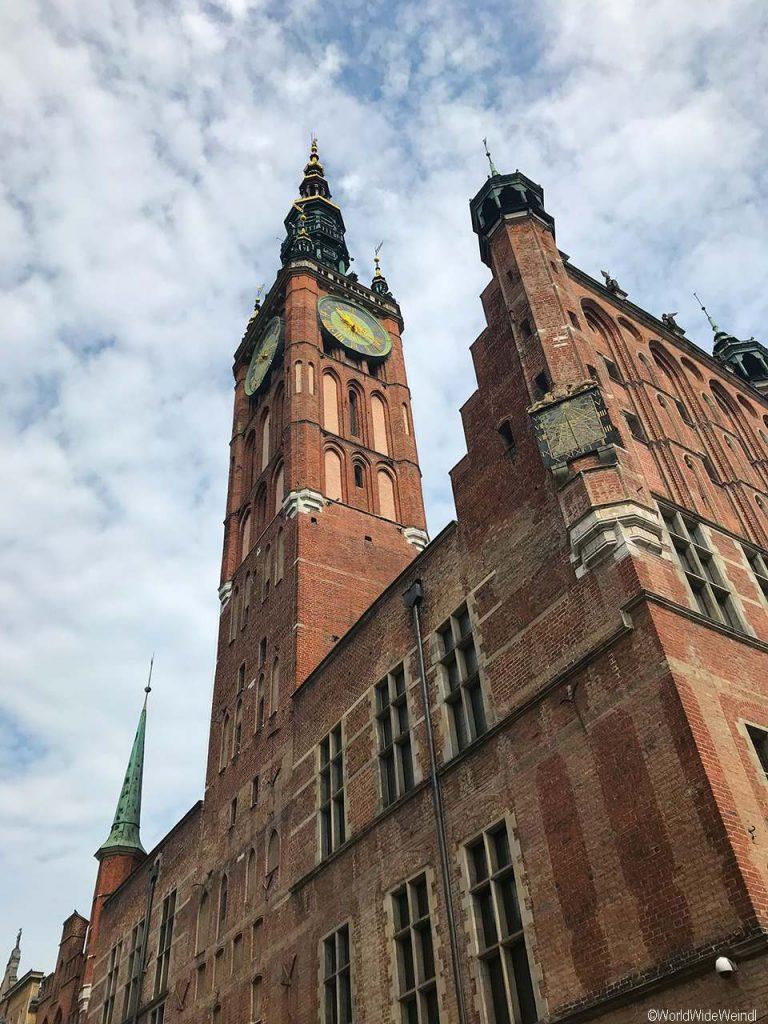 Danzig_Gdansk_12_Rechtstädtisches Rathaus ( Ratusz Głównego Miasta)