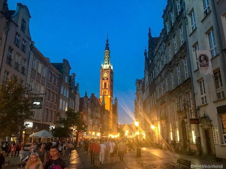Danzig_Gdansk_152_Rechtstädtisches Rathaus ( Ratusz Głównego Miasta)