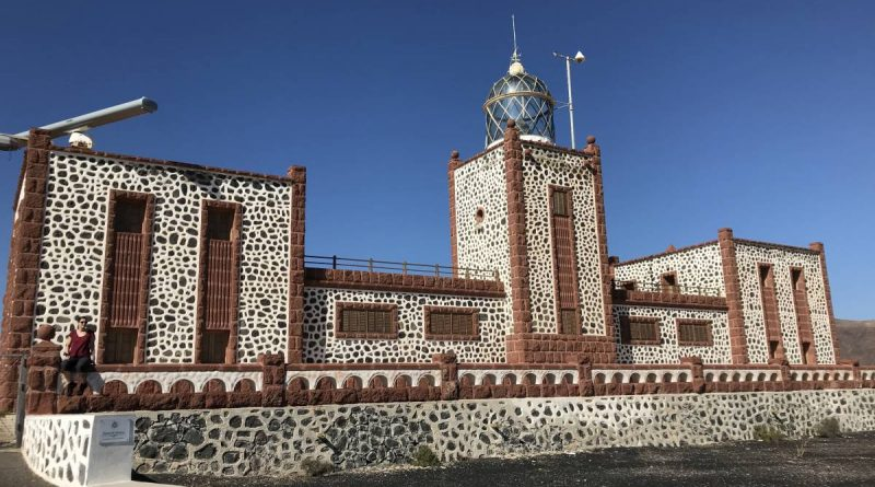 Fuerteventura 2355- Leuchturm Faro de la Entallada