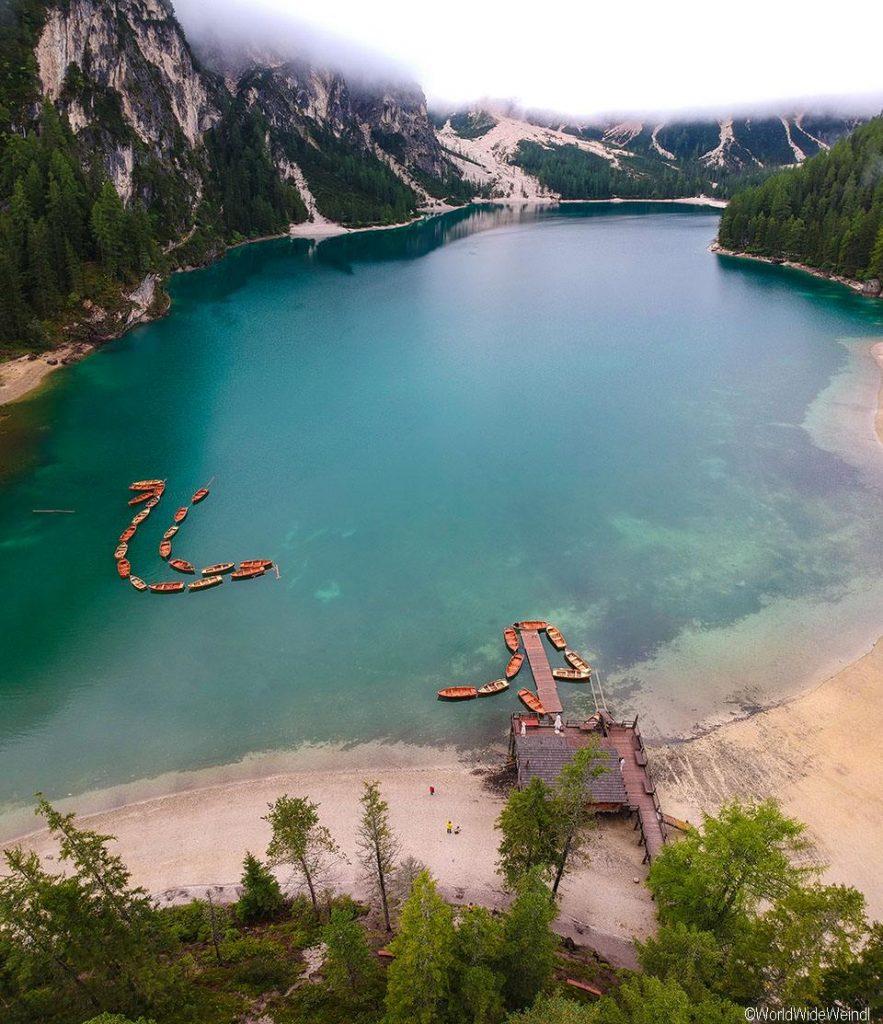 Italien, Südtirol 113 a-Pragser Wildsee 1