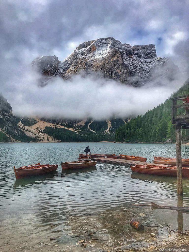 Italien, Südtirol 129-Pragser Wildsee 1