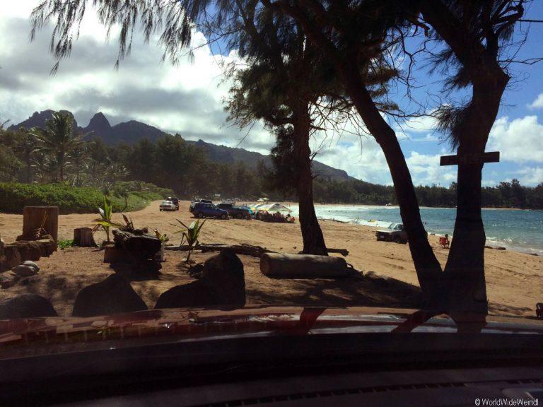 Kauai 1157- Anahola Beach Park