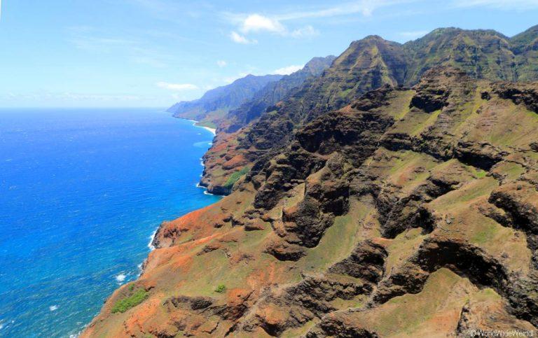 Kauai 2705- Mauna Loa Helicopter Tours , Napali Coast