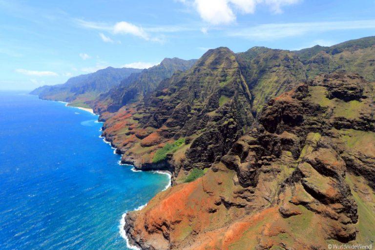 Kauai 2755- Mauna Loa Helicopter Tours , Napali Coast