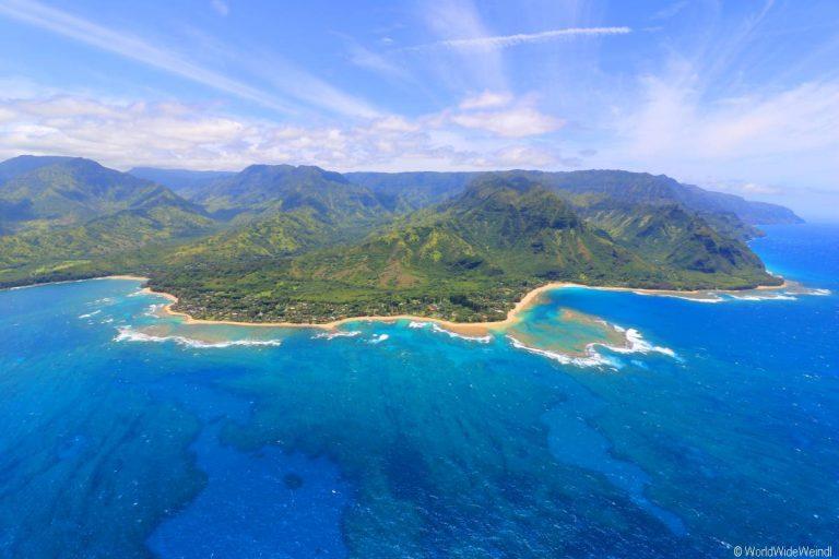 Kauai 3005- Mauna Loa Helicopter Tours , Napali Coast