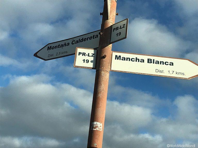 Lanzarote 545, Caldera Blanca
