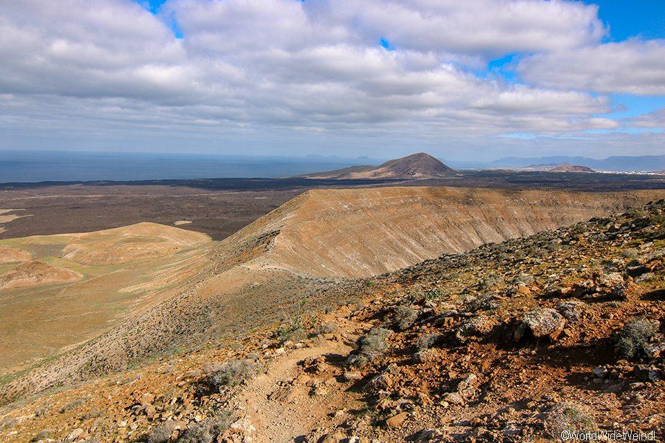 Lanzarote 593, Caldera Blanca