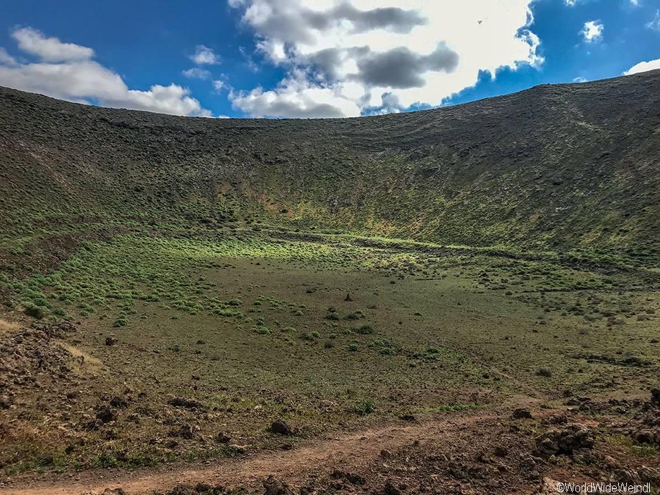 Lanzarote 596, Caldera Blanca