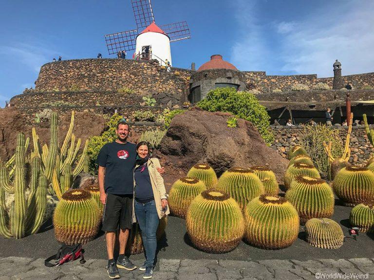 Lanzarote 972, Jardin de Cactus