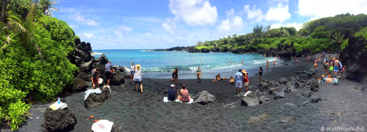 Maui 423, Road To Hana, Waianapanapa Stte Park