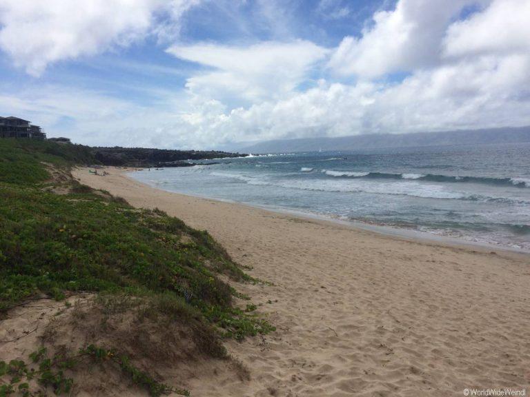Maui 80- Strand bei Onelea