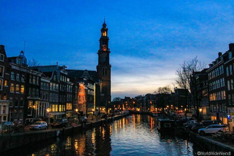 Niederlande, Amsterdam 05- Prinsengracht, Westerkerk