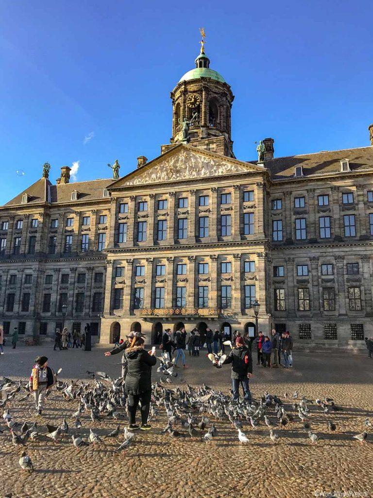 Niederlande, Amsterdam 113, Paleis op de Dam, Königspalast