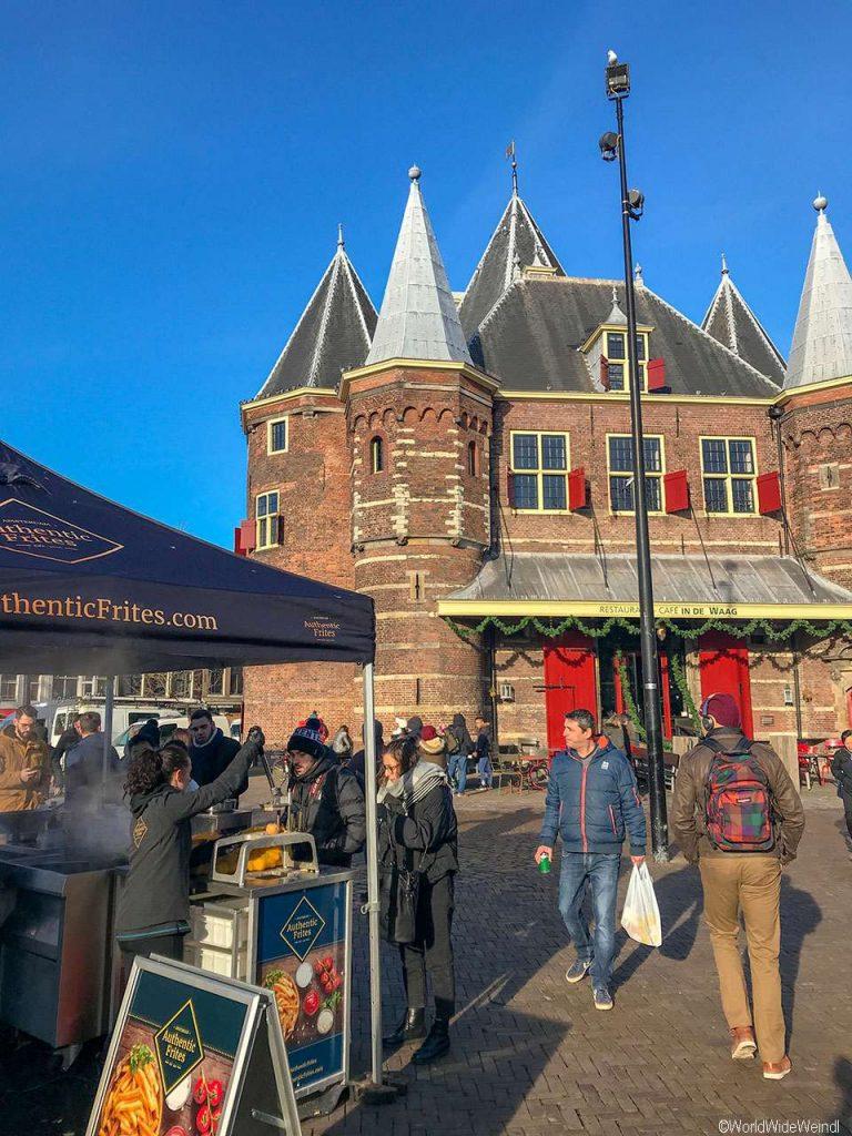 Niederlande, Amsterdam 116, Nieuwmarkt (neuer Markt) Square