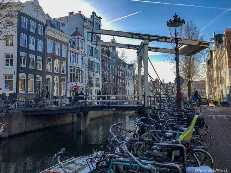 Niederlande, Amsterdam 117, Groenburgwal, Staalmeestersbrug