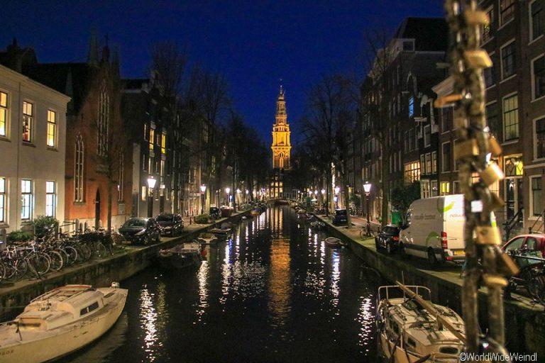 Niederlande, Amsterdam 125, Groenburgwal, Staalmeestersbrug