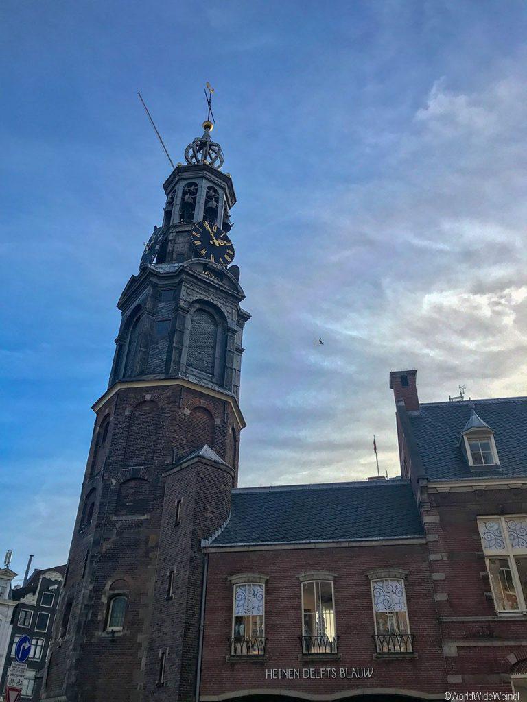 Niederlande, Amsterdam 169, Bloemenmarkt, Mun7toren