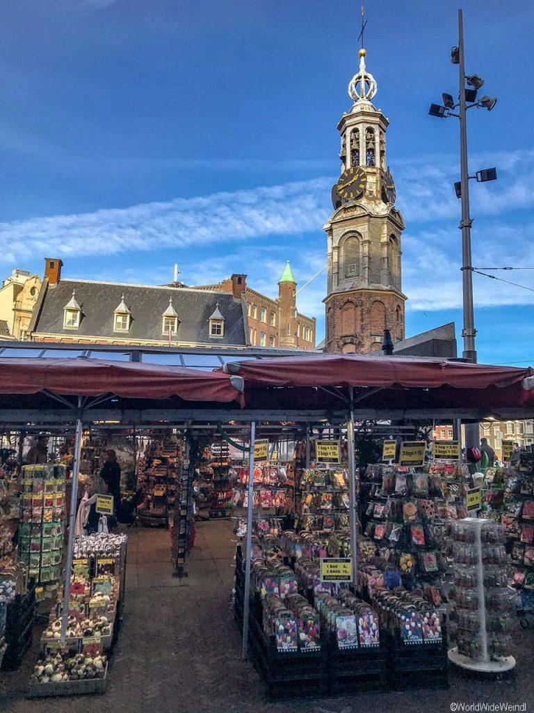 Niederlande, Amsterdam 170, Bloemenmarkt