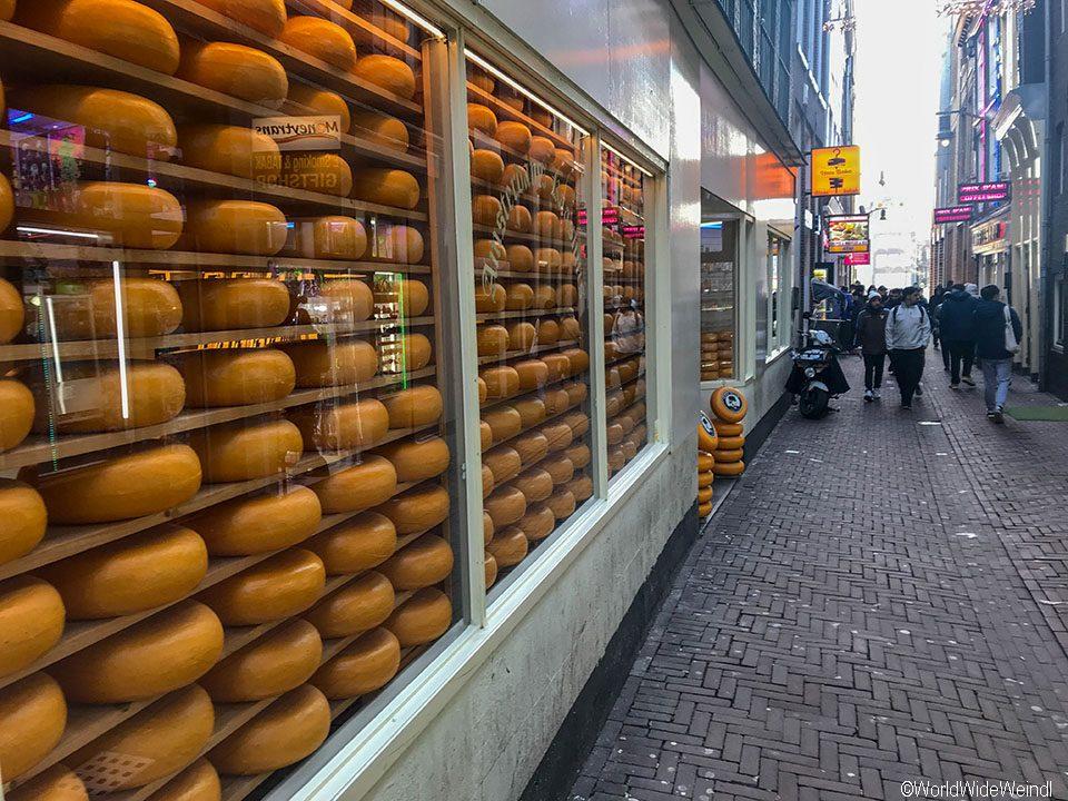 Niederlande, Amsterdam 217, Käsegeschäft