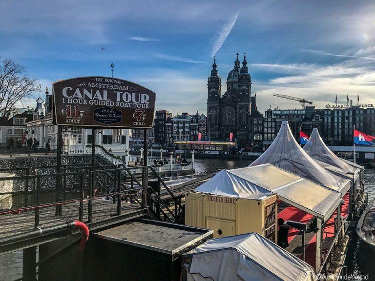 Niederlande, Amsterdam 69, Bootstour