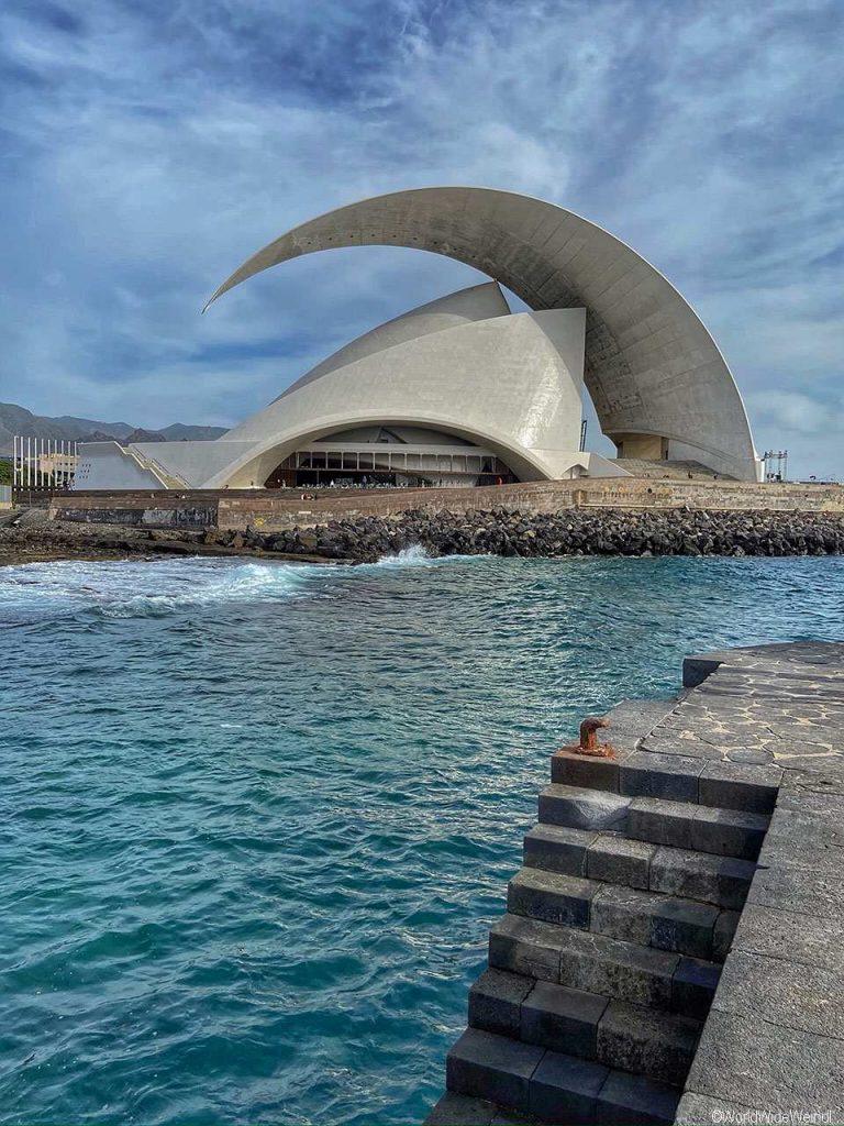 Teneriffa_193_Santa Cruz, Konzerthaus Auditorio de Tenerife,