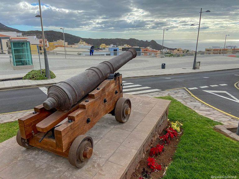 Teneriffa Süden: Die Stadt Adeje, im Süden von Teneriffa