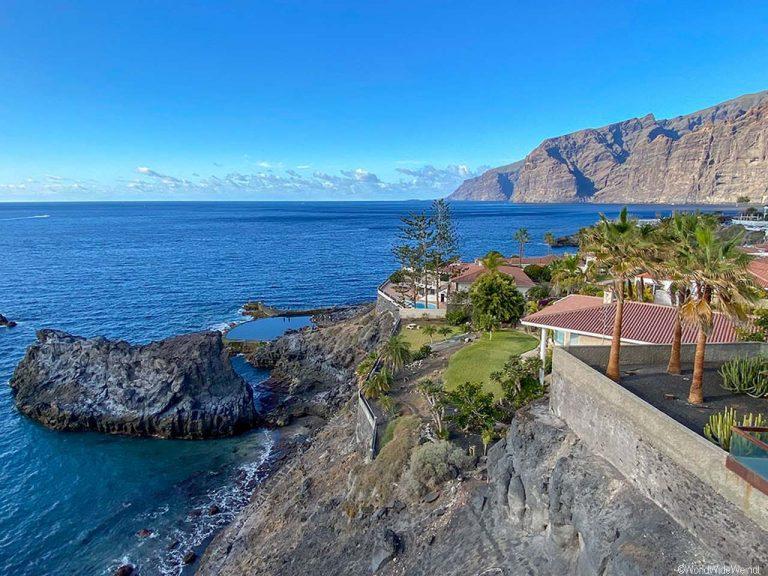 Teneriffa Süden: Aussicht auf Los Gigantes_Puerto de Santiago