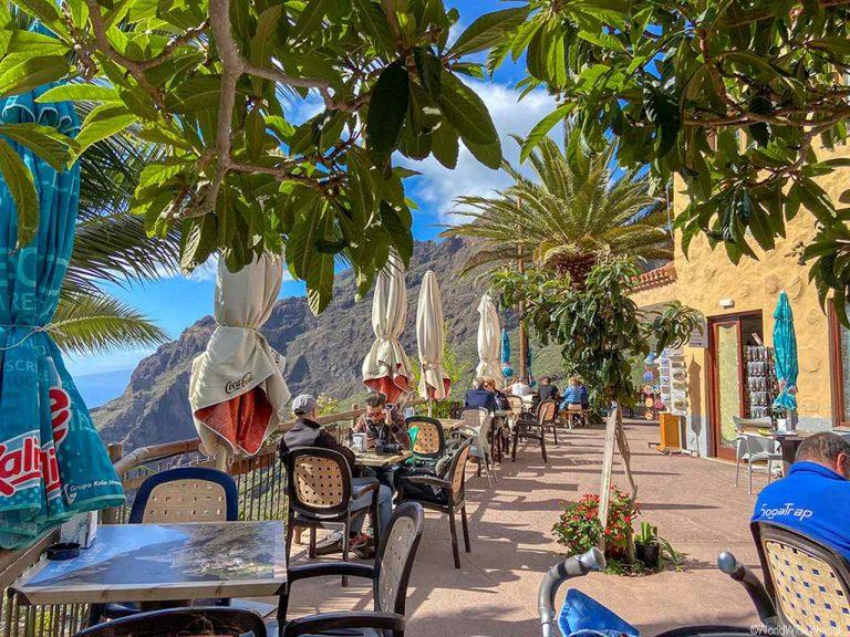 Teneriffa Süden: Restaurant im Tenogebirge, Masca