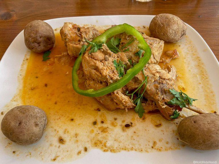 Teneriffa Süden: Essen im Restaurant von Masca