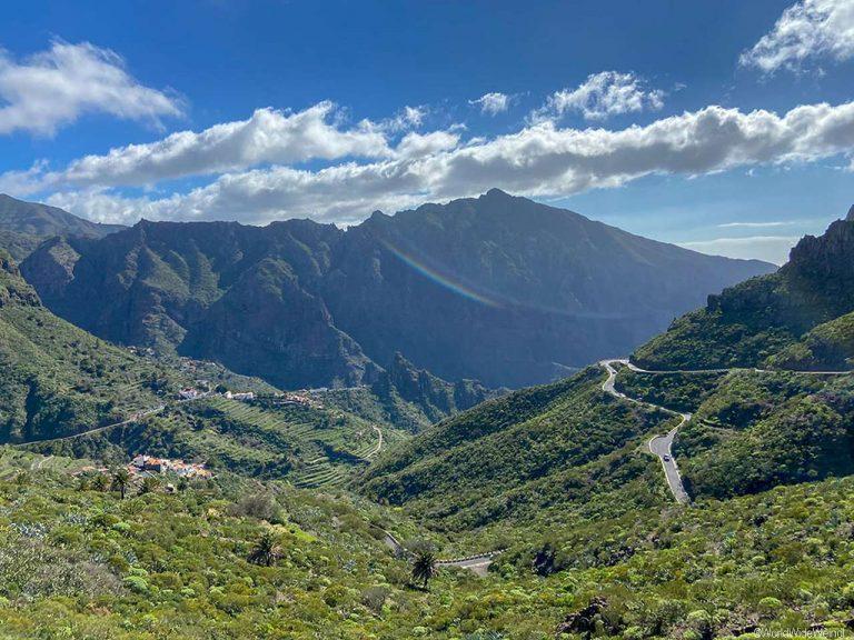 Teneriffa Süden: Aussicht auf das Tenogebirge
