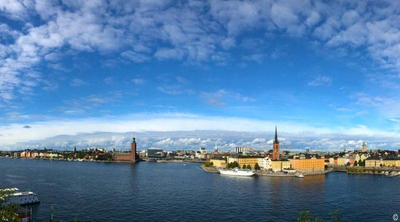 Stockholm 2955- Ausblick von Södermalm