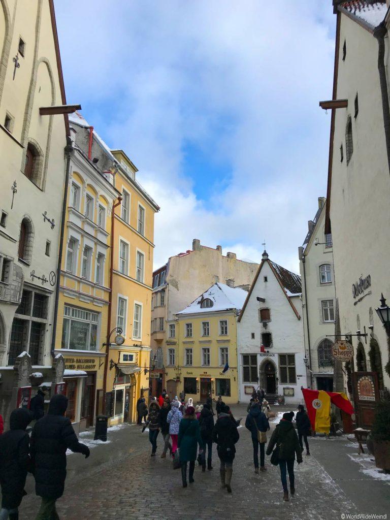 Tallinn 95- Rathausplatz