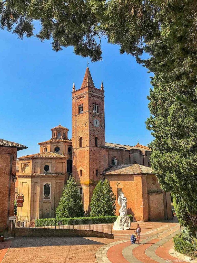 Toskana193-Abbazia Di Monte Oliveto Maggiore