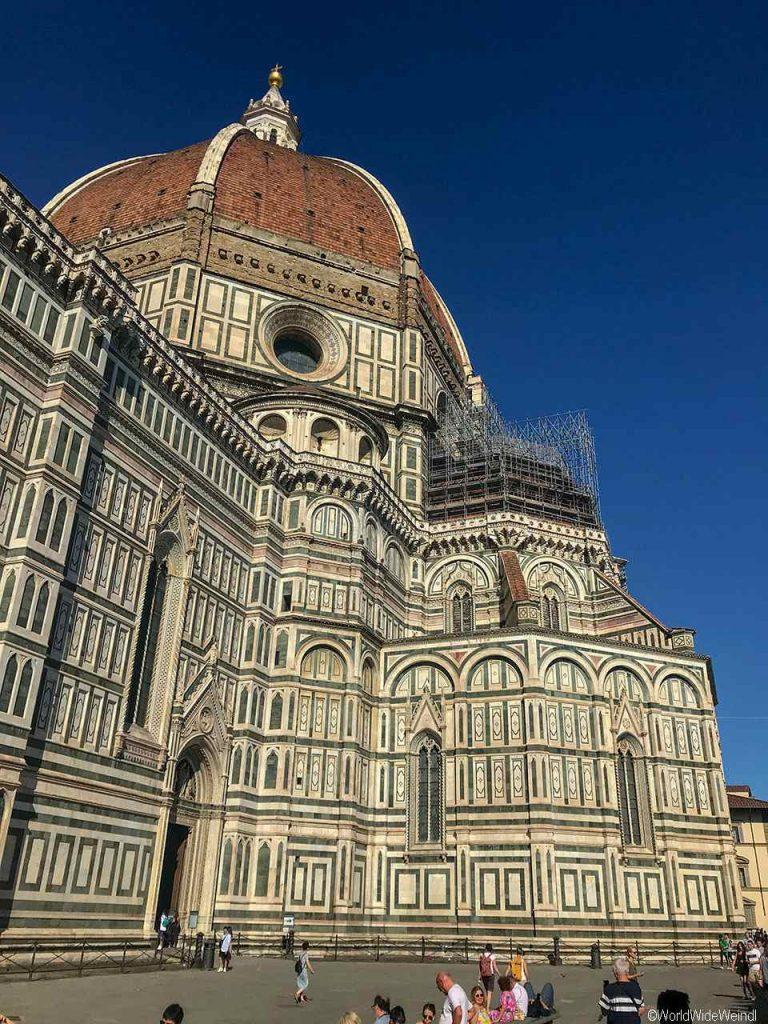 Toskana318- Florenz, Die Kathedrale, der Dom, Campanile