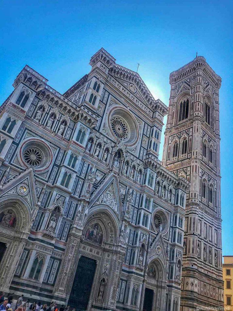 Toskana326 Florenz, Die Kathedrale, der Dom, Campanile