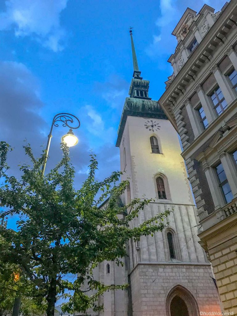 Tschechien, Brünn-100-St.-Jakobs-Kirche -Kostel sv. Jakuba