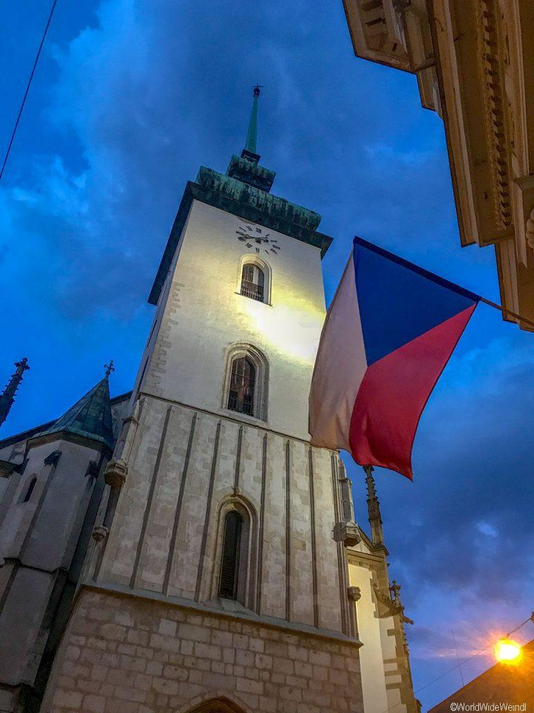 Tschechien, Brünn-105-St.-Jakobs-Kirche -Kostel sv. Jakuba