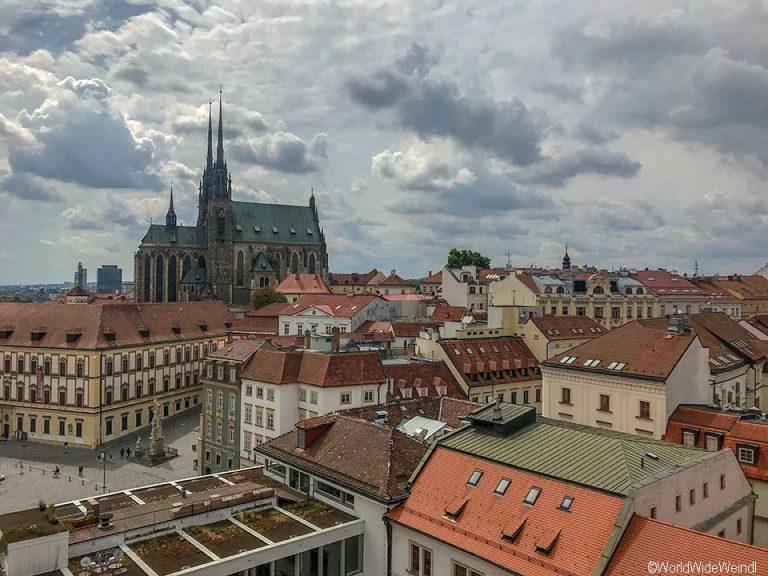 Tschechien, Brünn-220-Altes Rathaus Ausblick