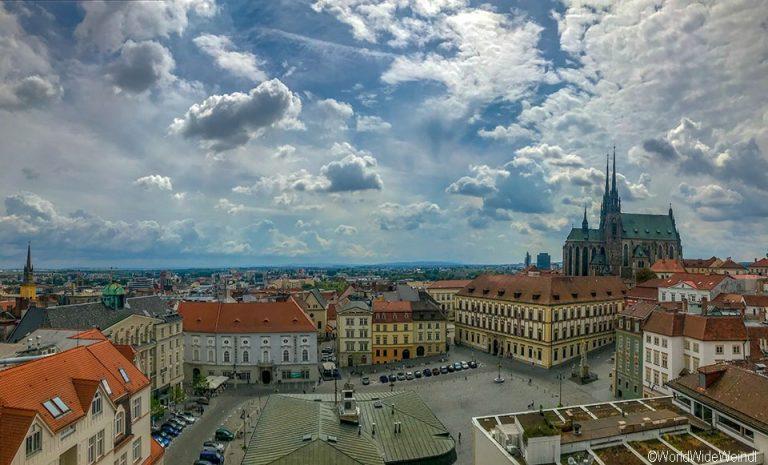 Tschechien, Brünn-230-Altes Rathaus Ausblick