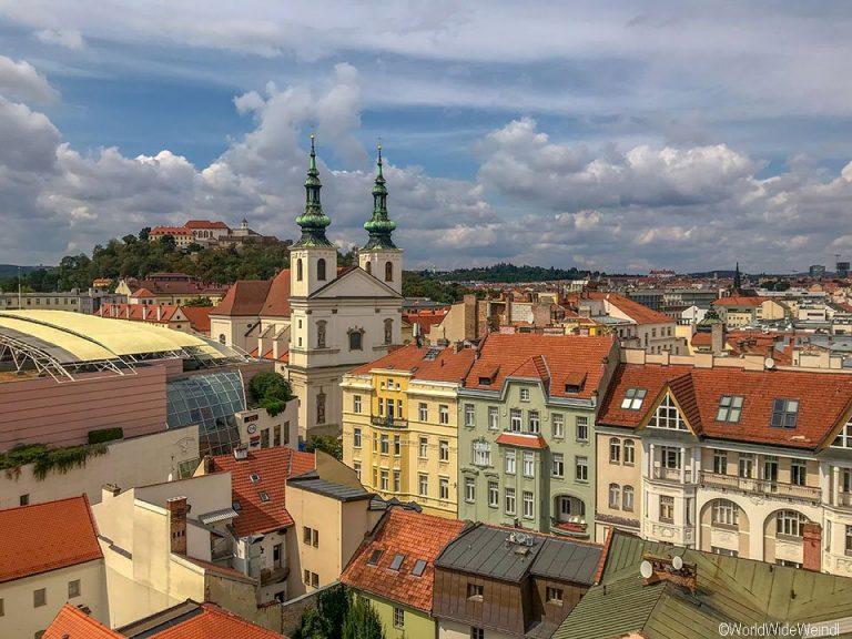 Tschechien, Brünn-240-Altes Rathaus Ausblick