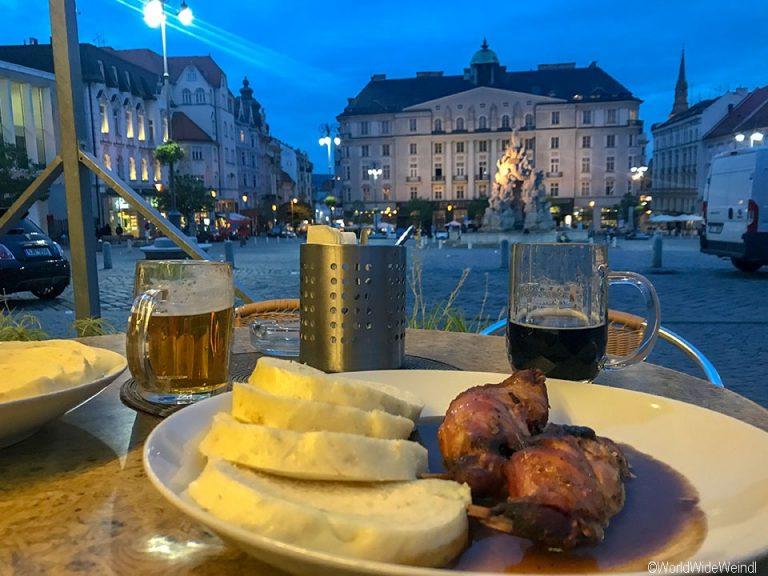 Tschechien, Brünn-300-Restaurace Špalíček