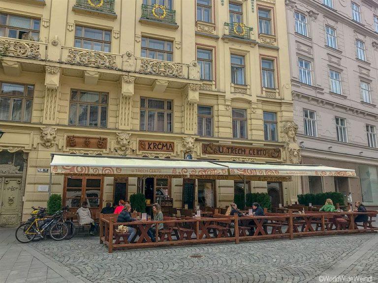 Tschechien, Brünn-380-U Třech čertů