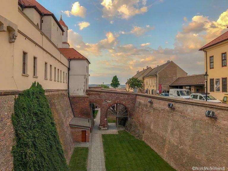 Tschechien, Brünn-70-Festung Špilberk