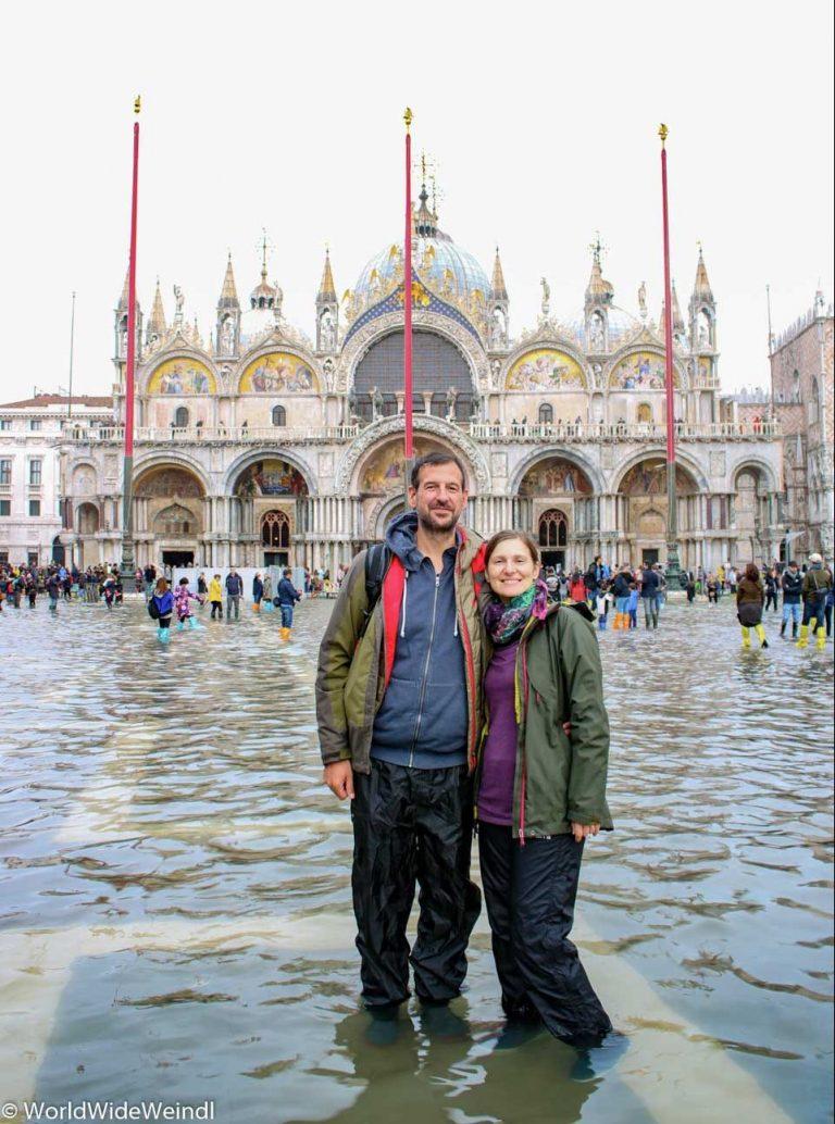 Venedig_Venezia-23_Markusplatz (La Piazza die San Marco) zu Acqua Alta