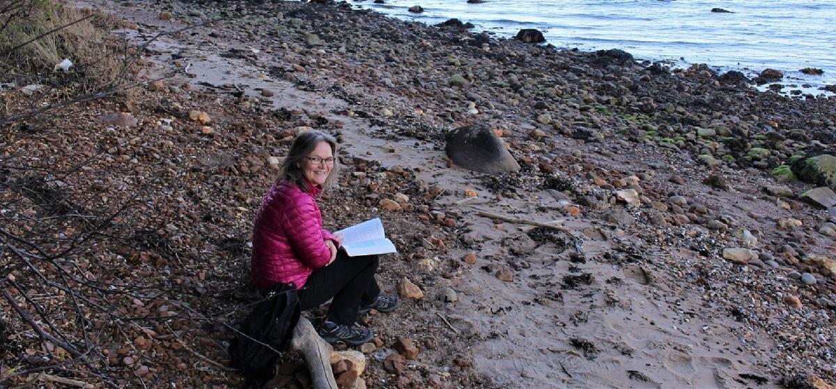Birgit - strandlæsning