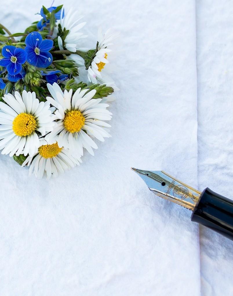 Blomster - pen