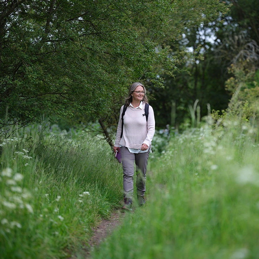 Writers walk - Birgit vandrer
