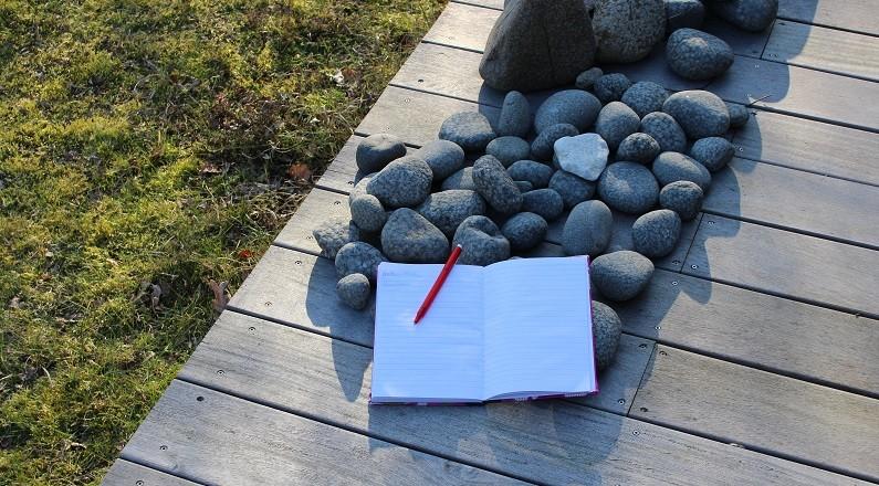 Writers walk - notesbog
