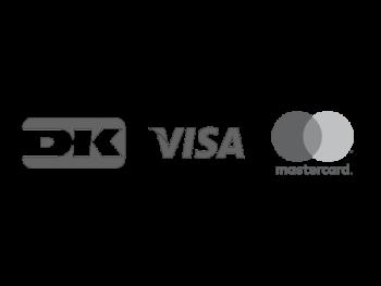Betal med Visa, Mastercard og Dankort på Wuth Copenhagen