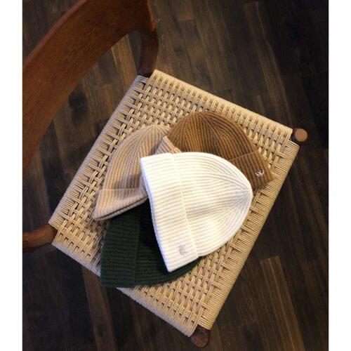 Fold huer i 100% cashmere fra